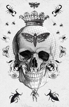 Tattoo inspiration... Skull  #Movember