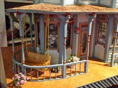 Teresa Kasner: Dollhouse Porch Swing & Knitting Bunny