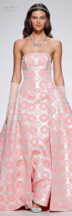 Ana Torres: Barcelona Bridal Week Spring 2015 #FashionSerendipity #fashion #style #designer Fashion and Designer Style