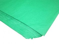 Green Packaging Tissue Paper    Price: $2.50/pack of 24