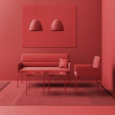 Light, lighter... Chic Air! Chairs and benches from the Chic Air collection are so light they look like they were floating over the floor!   #profim #chicair #christophepillet #reddotwinner #chair #reddotaward #design #modernfurniture #furnituredesign #lightness #interiordesign #inspiration #colors  #style #lifestyle #art #beautiful #interior #decor #designer #decoration #modern #interiordecor #interiorstyling #architecture Interior Styling, Interior Decorating, Interior Design, Red Interiors, Colorful Interiors, Home Room Design, House Design, Monochrome Interior, Soft Seating