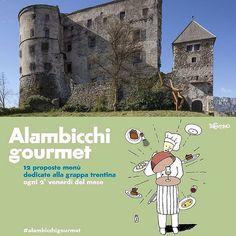 Non perderti gli speciali abbinamenti con la grappa di #alambicchigourmet a @castelpergine