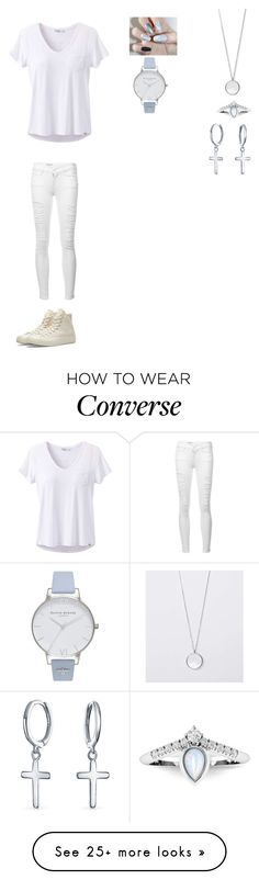 """Sylvia Elclis: Summer"" by brexxykm on Polyvore featuring Converse, Frame, Bling Jewelry, Olivia Burton and prAna"