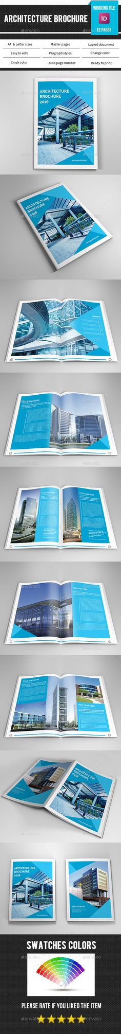 Corporate Brochure Template InDesign INDD #design Download: http://graphicriver.net/item/corporate-brochure-templatev330/14263832?ref=ksioks
