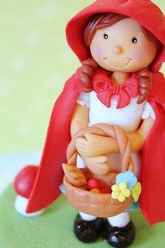 Tutorial de modelado infantil Caperucita Roja - Megasilvita