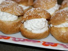 Passover Cream Puffs and Eclairs with Custard Filling
