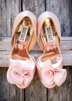 Badgley Mischka #weddingshoes