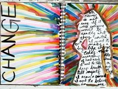 Art Journaling with Koi Watercolors    So important to do SOMETHING artistic a day