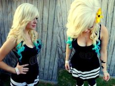 I wish this was my hair :(    i wanna do this with a wig