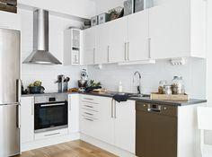 Mejores 443 imágenes de Cocinas Pequeñas en Pinterest   Interior ...