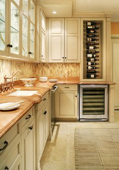 understated cabinet door style with foot-style baseboard style