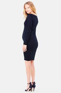 Ingrid & Isabel Lace Maternity Dress | Nordstrom
