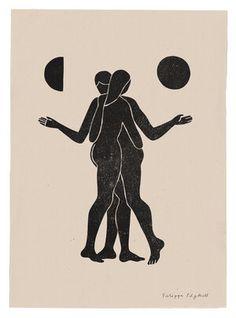 Filippa Edghill IllustrationFilippa Edghill Tea Logo, Print Design, Logo Design, Black Silhouette, Keep On, Stonehenge, Minimalist Poster, Modern Wall Art, Textile Design