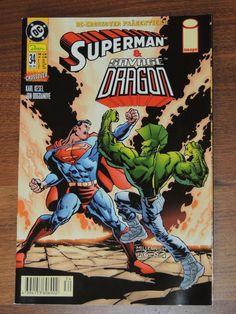 DC Crossover #34 Superman & Savage Dragon (Dino Comics)