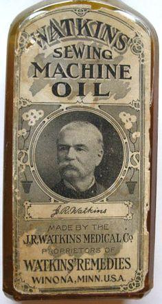 Watkins Sewing Machine Oil