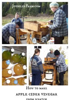 Once you have your apple cider made you are ready to learn how to make apple cider vinegar. Follow this easy, step by step guide for successful cider.