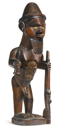 Bembe Male Figure, Democratic Republic of the Congo | Lot | Sotheby's -( Zaïre)