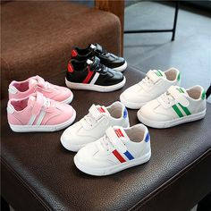 cbe9b983470 2018 Hook Loop All season patch shoes casual baby cute Lovely running shoes  girls boys New European baby toddlers sneakers Price  9.99   FREE Shipping    ...