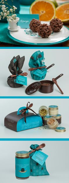 "Food packaging of ""Meu Brigadeiro"" candy brazilian brand, developed specially for easter time."