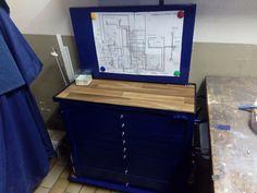 Recycling Werkzeugwagen Bauanleitung zum selber bauen