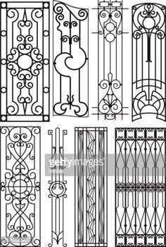 art deco steel fence designs - Google Search