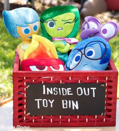 Inside Out plush toys