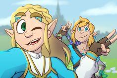 Twilight Princess Hd, Princess Zelda, Mipha And Link, Zelda Drawing, Evil Demons, Art Jokes, Legend Of Zelda Breath, Demon King, Breath Of The Wild