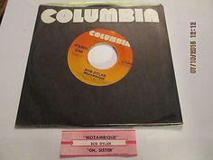 Bob Dylan - Mozambique + Oh Sister Orig 1975 + Orig Jukebox strip