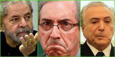 Cunha convidou Lula e Temer como suas testemunhas de defesa