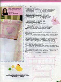 Molde e medidas de um kit berço - ARTESANATO PASSO A PASSO!