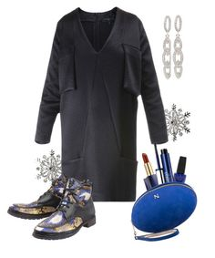 """Chic without heels!"" by kreateurs ❤ liked on Polyvore featuring Kim Rogers, Constance Boutet, Estée Lauder, OPI and Clinique"