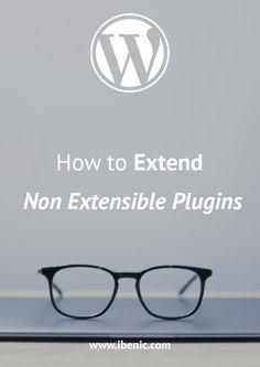 How to Extend Non Extensible Plugins - Igor Benić Learn Wordpress, Wordpress Plugins, About Me Blog, Self Publishing, Web Development, Affiliate Marketing, Read More, Online Courses, Social Media