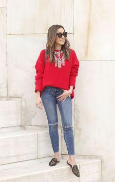 Confira dicas sobre como usar a cor vermelha em seus looks!