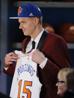 Kristaps Porzingis poised to turn New York boos into cheers