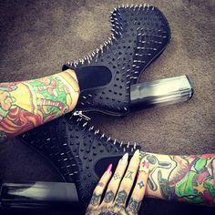 Картинки по запросу unif shoes spikes