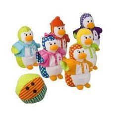 Circo Penguin Bowling Plush Set
