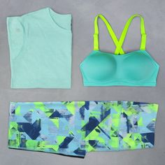 A colorful outfit to power through my workout. #IDeserveIt | Victoria's Secret Sport