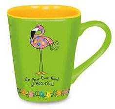 TropicalBreezeDecor - Love Mug - Ceramic Pink Flamingo Cup 730-05, $13.99 (http://www.tropicalbreezedecor.com/love-mug-ceramic-pink-flamingo-cup-730-05/)