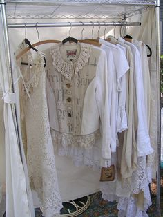 Upcycled LINEN Jacket  by robynswing