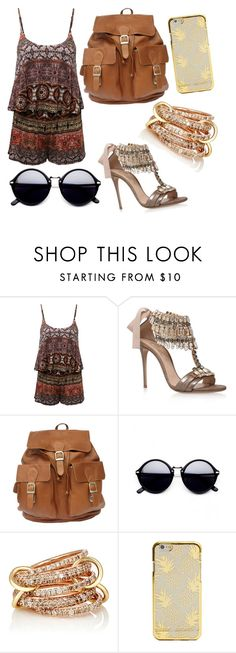 """Untitled #14"" by louraraujo13 ❤ liked on Polyvore featuring Casadei and SPINELLI KILCOLLIN"