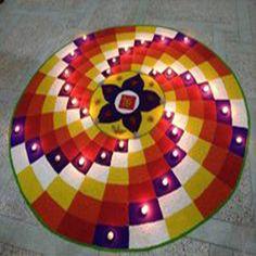 latest Simple Rangoli Designs Images Photos for Diwali 2018 ~ Happy Diwali Images Wishes 2018 Rangoli Designs Latest, Latest Rangoli, Simple Rangoli Designs Images, Rangoli Designs Flower, Rangoli Patterns, Colorful Rangoli Designs, Rangoli Designs Diwali, Flower Rangoli, Beautiful Rangoli Designs