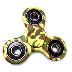 Buy fidget spinner trio camouflage fidget hand spinner. Model: Camouflage Trio, Color: camouflage, Material: Plastic, Cheap fidget spinner plastic