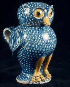 Covered jug in form of an owl | Museum of Fine Arts, Boston