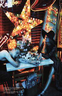 Vogue Shoot..Emma Summerton...Gods Own Junkyard...oct 2011