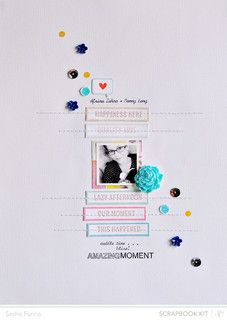 *Marks and Co kit* Amazing Moment *main kit only* by Sasha at @Studio_Calico