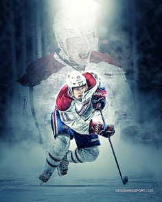"Brendan Gallagher, Montreal Canadiens — Sample from 16x20"" poster print"