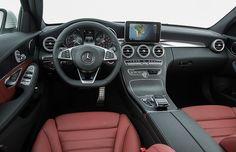 Interior Mercedes-Benz Classe C (Foto: Divulgação)