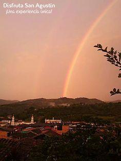 Así amanece #SanAgustín hoy 30 de abril del 2014.  Hermoso