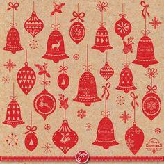 Christmas clip art CHRISTMAS ORNAMENT Clipart pack by YenzArtHaut