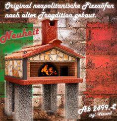Neapolitanische Pizzaofen Fuer Den Garten 01